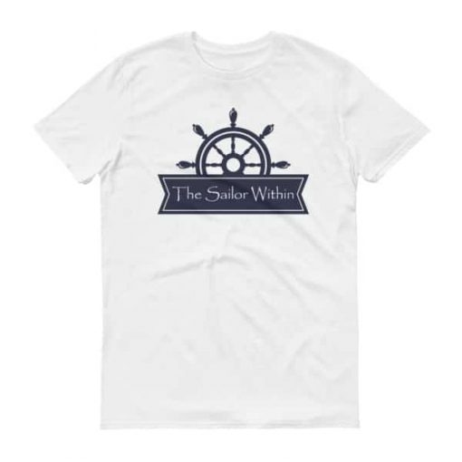 The Sailor Within Logo on a T-Shirt